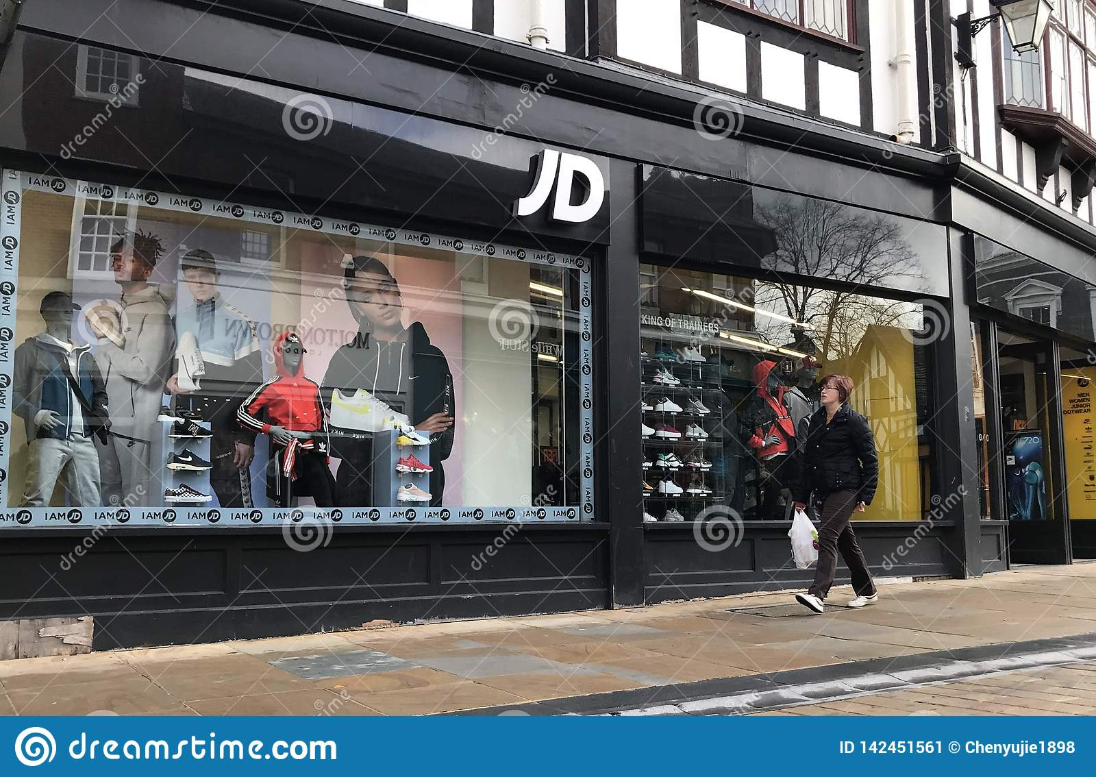 Jd Sports Jd Sports Store Editorial Photo Image Of Chothes United