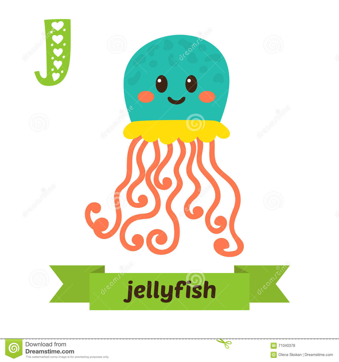 Your Last Day In Kindergarten A Letter To My Students Jellyfish J Letter Cute Children Animal Alphabet In