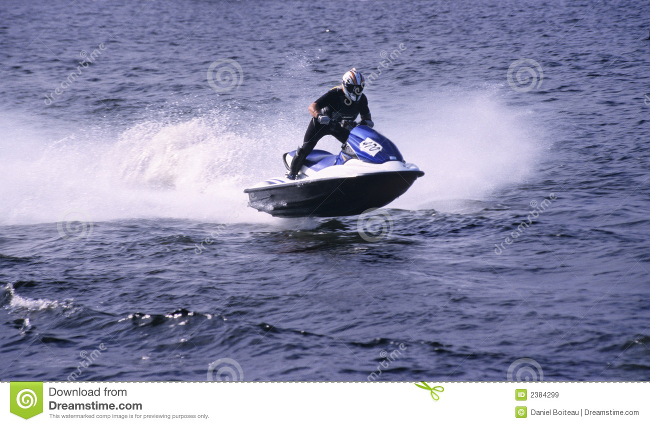Gratis Jet Ski Jet Ski Stock Image Image Of Race Waves Splash Blue