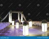 Jewish Wedding Ceremony Canopy (chuppah Or Huppah) Royalty ...