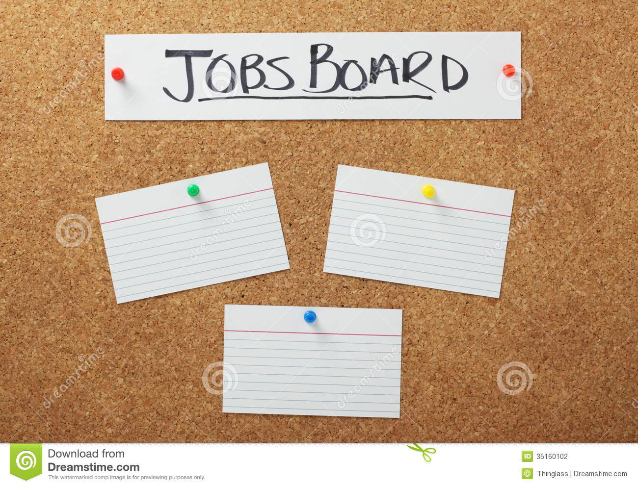 Job Opportunities Vacancies Jobs Board Stock Photo Image Of Help Opportunity Recruiting