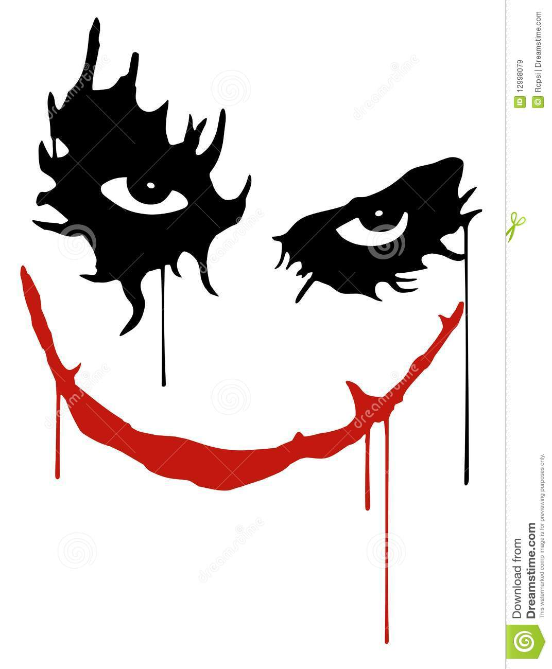3d Clown Wallpaper Joker Smile Stock Vector Illustration Of Laugh Clown