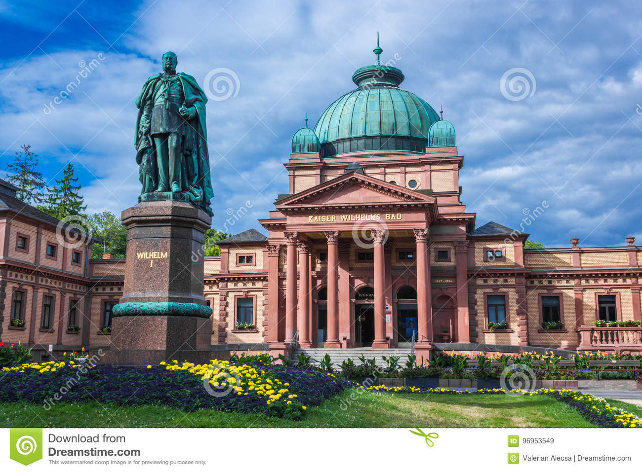 Bad Homburg Kaiser Wilhelms Bad In Bad Homburg Stock Image Image Of