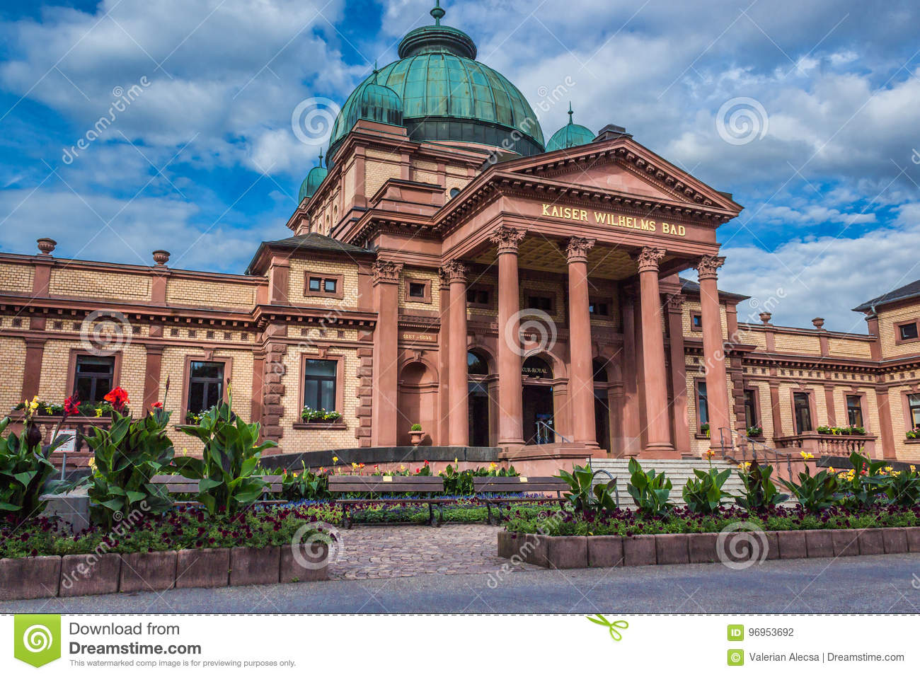 Bad Homburg Kaiser Wilhelms Bad In Bad Homburg Stock Photo Image Of