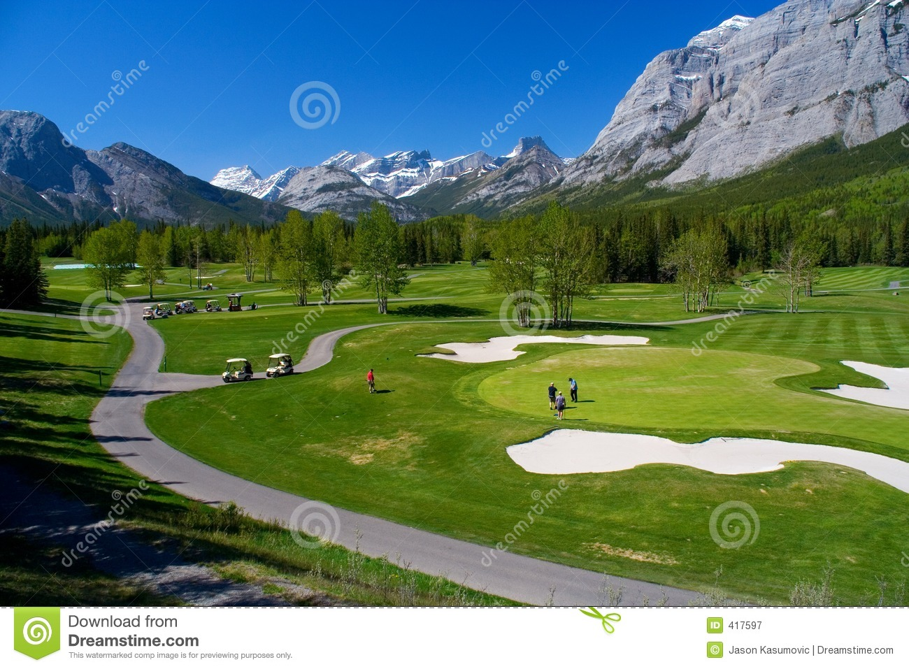 Pretty Girl Wallpaper Download Kananaskis Golf Course Stock Image Image Of Links Scenic