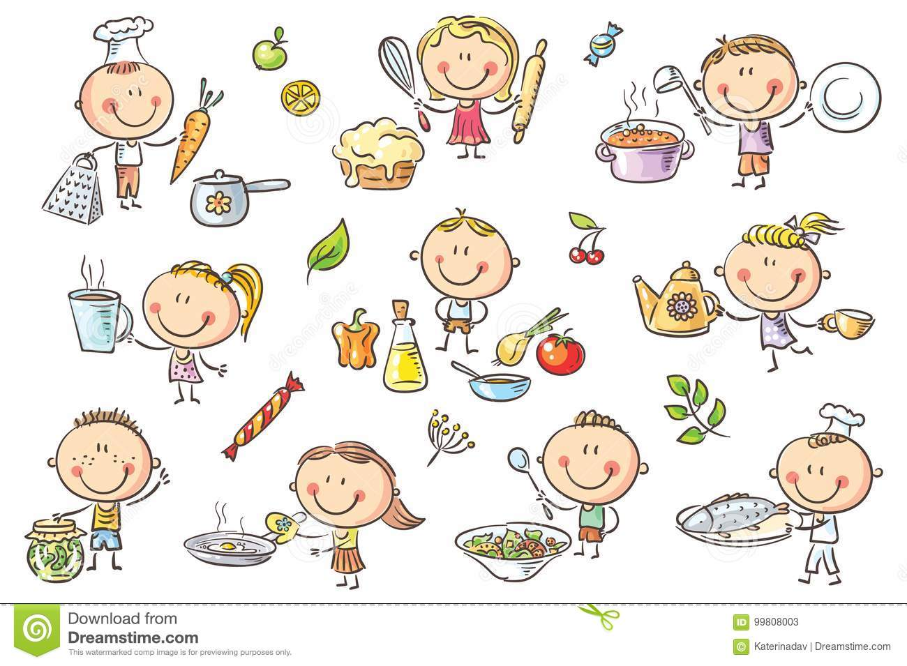 Cooking Stock Illustrations 562 858 Cooking Stock Illustrations Vectors Clipart Dreamstime