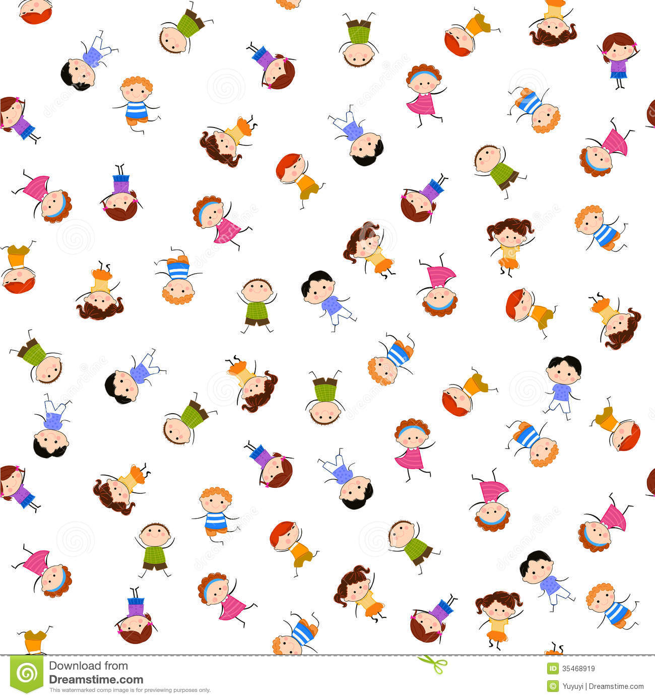Wallpapers 3d Hello Kitty Gratis Kids Seamless Pattern Background Royalty Free Stock Images