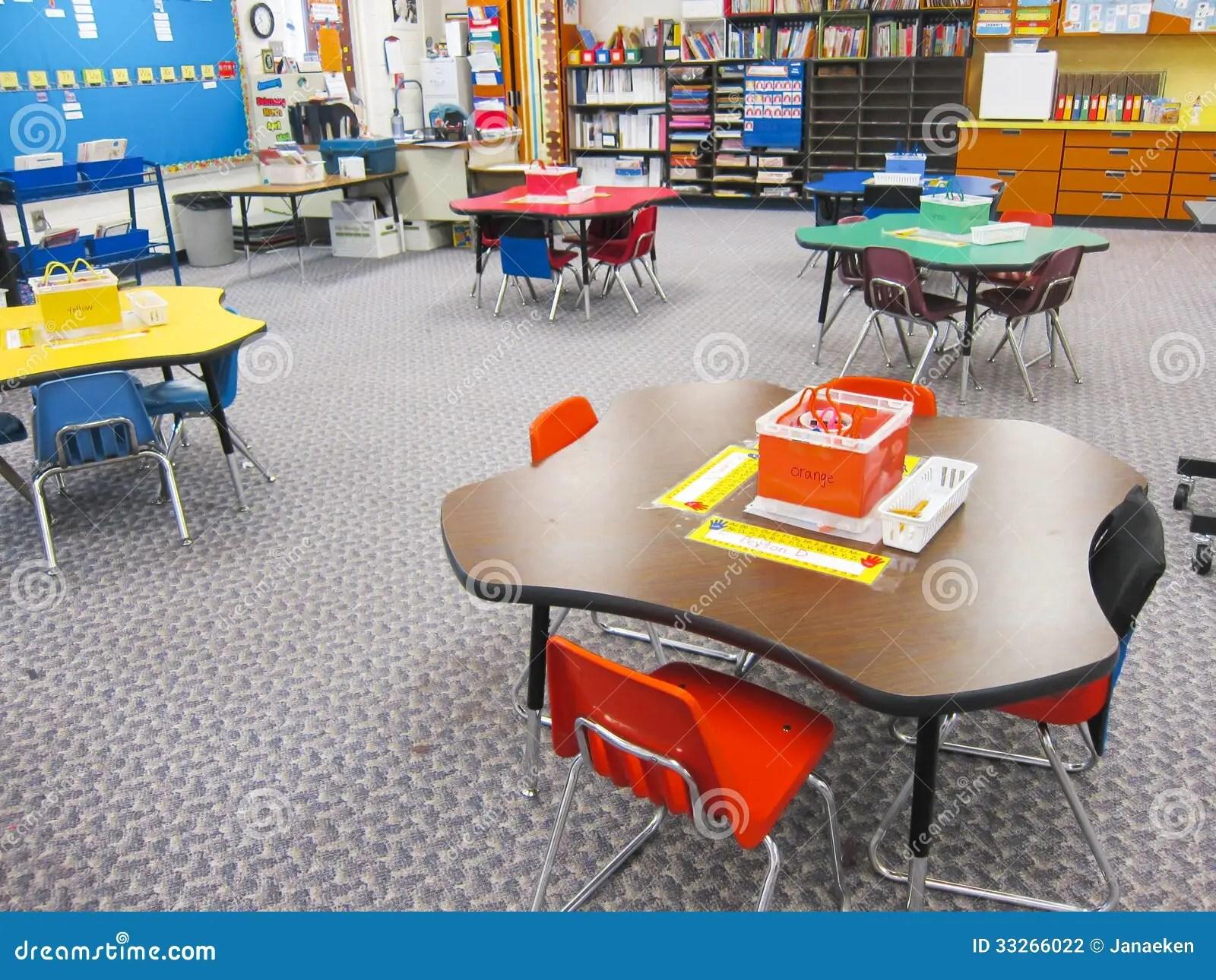 Kindergarten Classroom Stock Photo Image Of Preschool