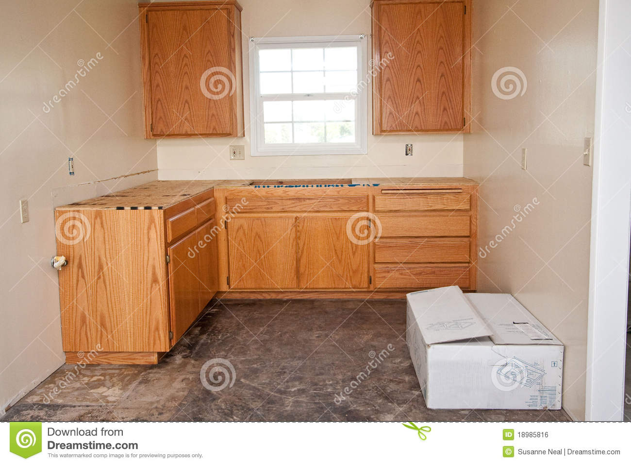 royalty free stock image kitchen cabinets countertop image kitchen cabinets and countertops Kitchen cabinets without countertop