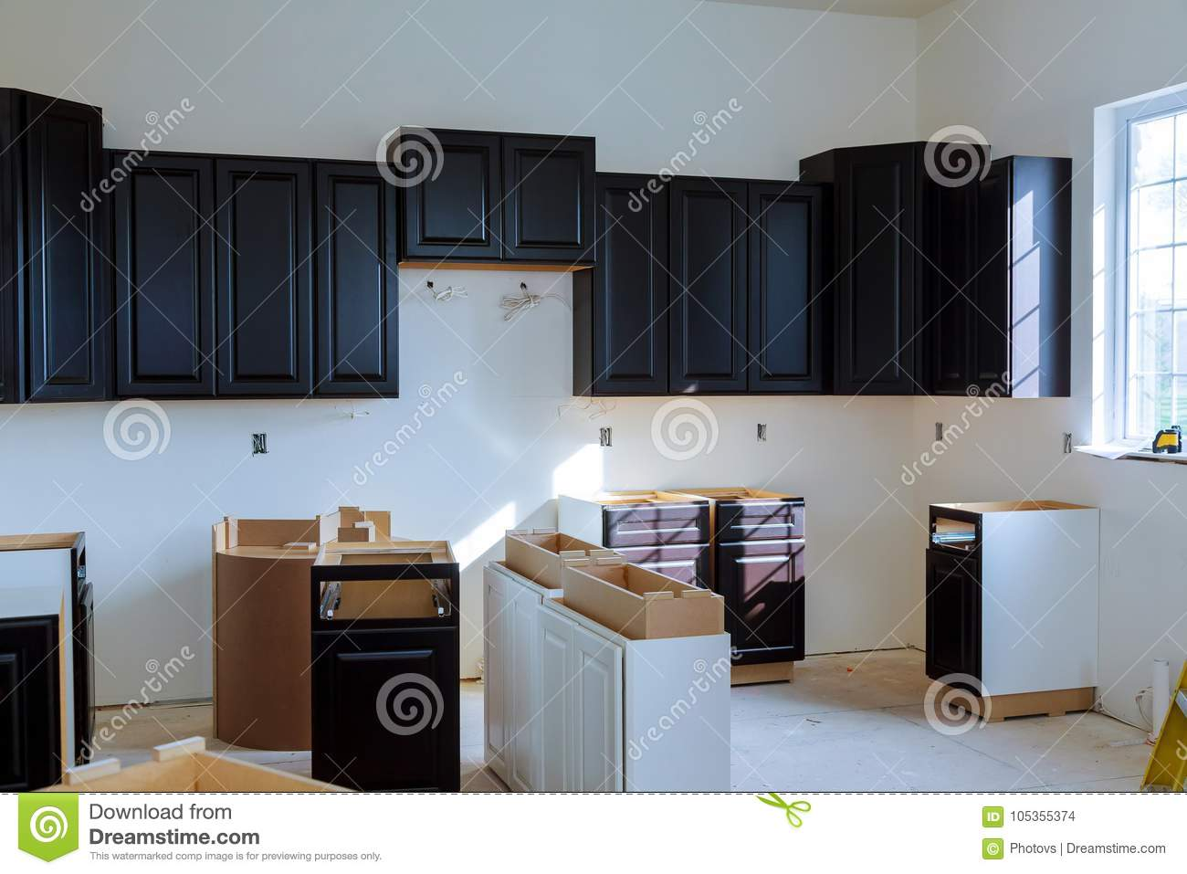 Kitchen Cabinet Design Plans Download Blind Corner Cabinet Island Drawers And Counter Cabinets Installed