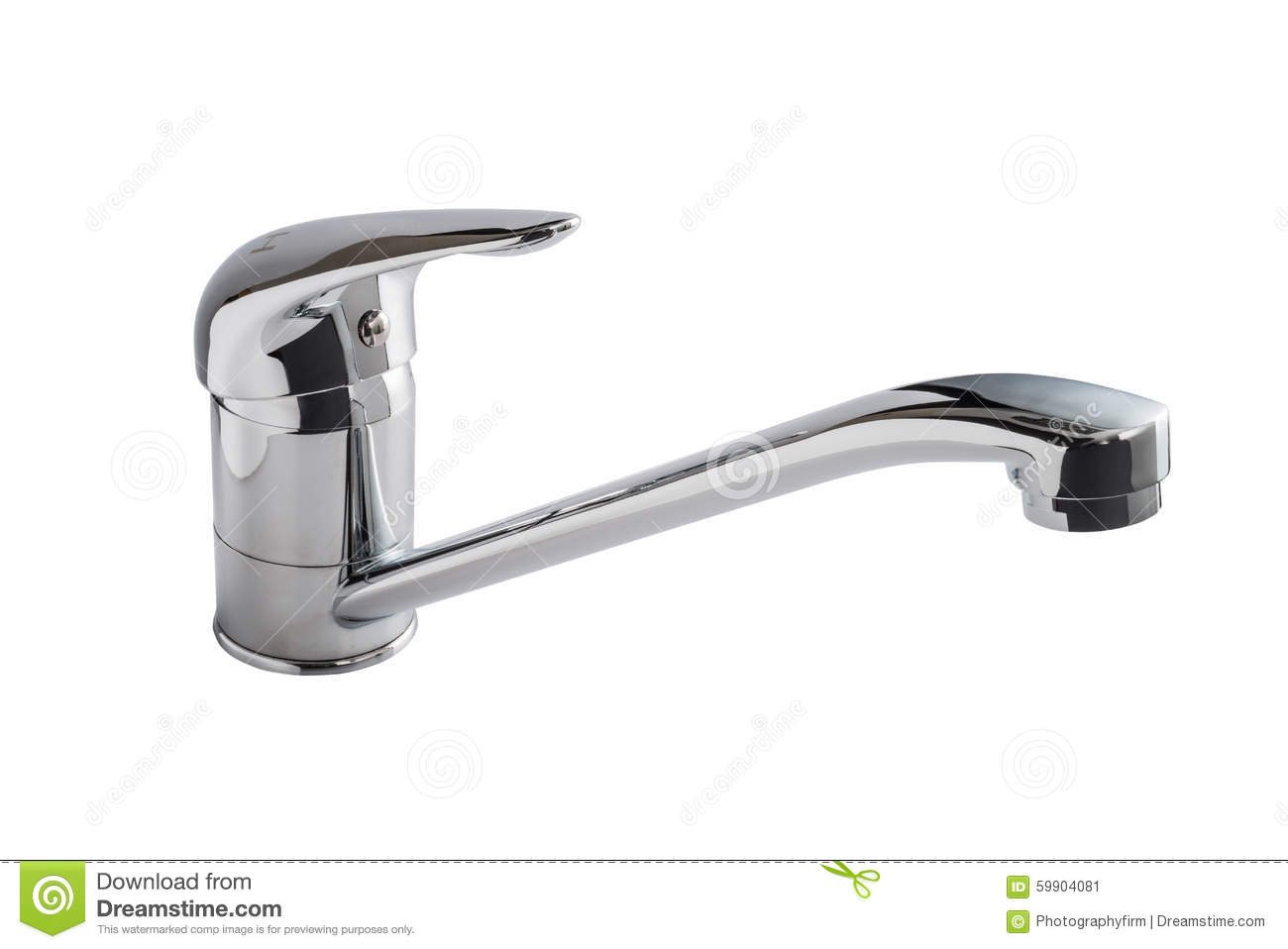 Hahn Küchen Kitchen Faucet Tap Stock Image Image Of Modern Room 59904081