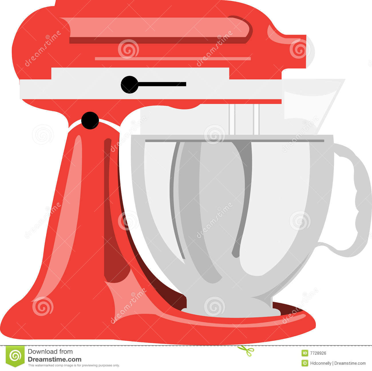 Pinke Küchenmaschine Kitchen Mixer Stock Vector Image Of Kitchen Baking
