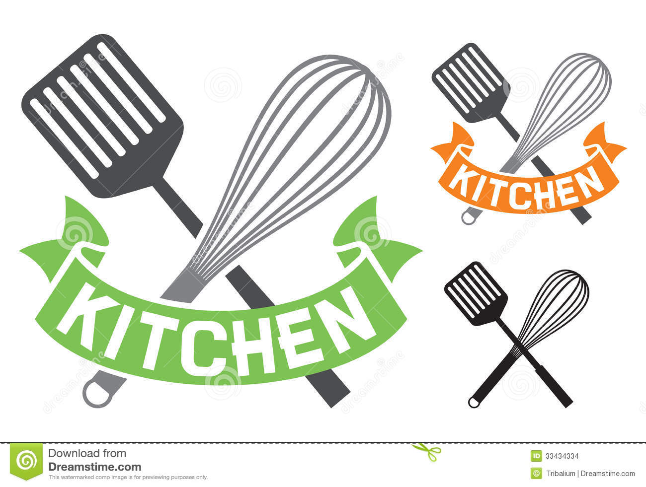 Symbolik Küche Kitchen Symbol Stock Images Image 33434334