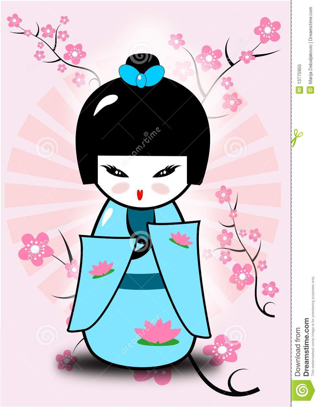 Little Girl Wallpaper Free Download Kokeshi Doll Royalty Free Stock Photo Image 13775955