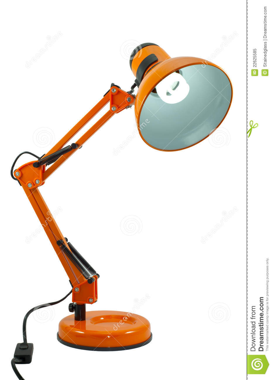 Cordon Lumineux Lampe Orange De Pixar Illustration Stock. Illustration Du