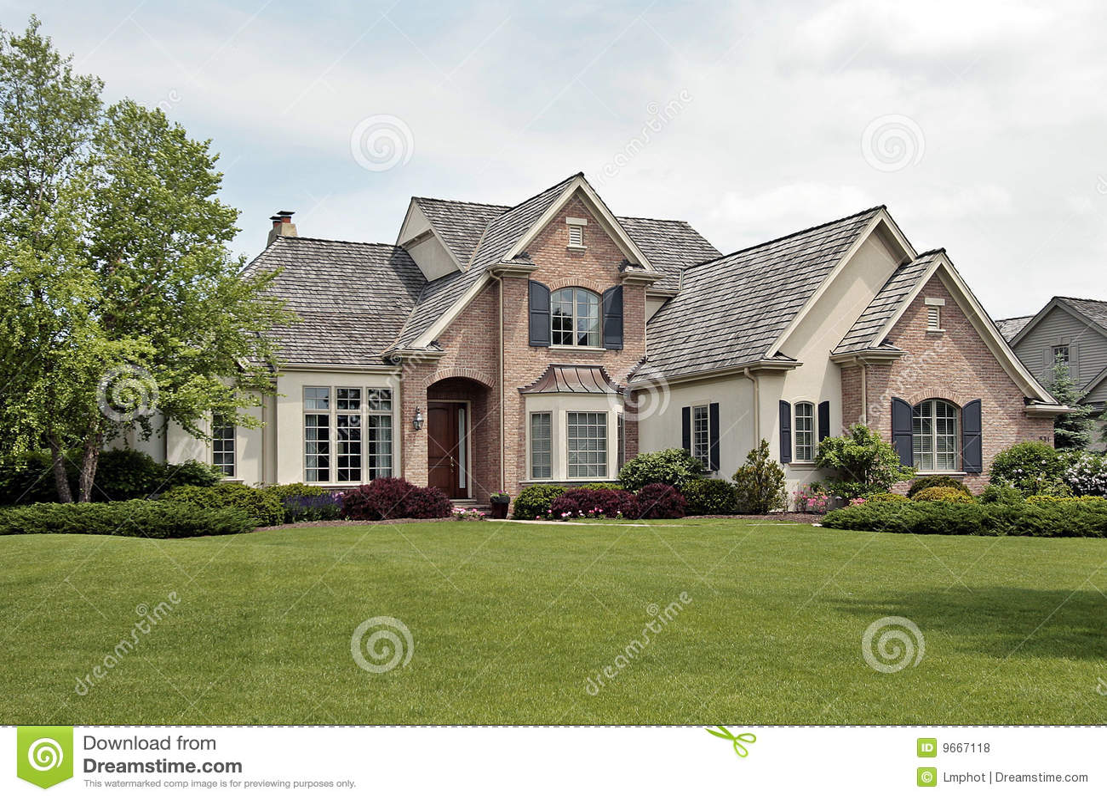 large luxury brick home royalty stock photos image lubbock large luxury homes