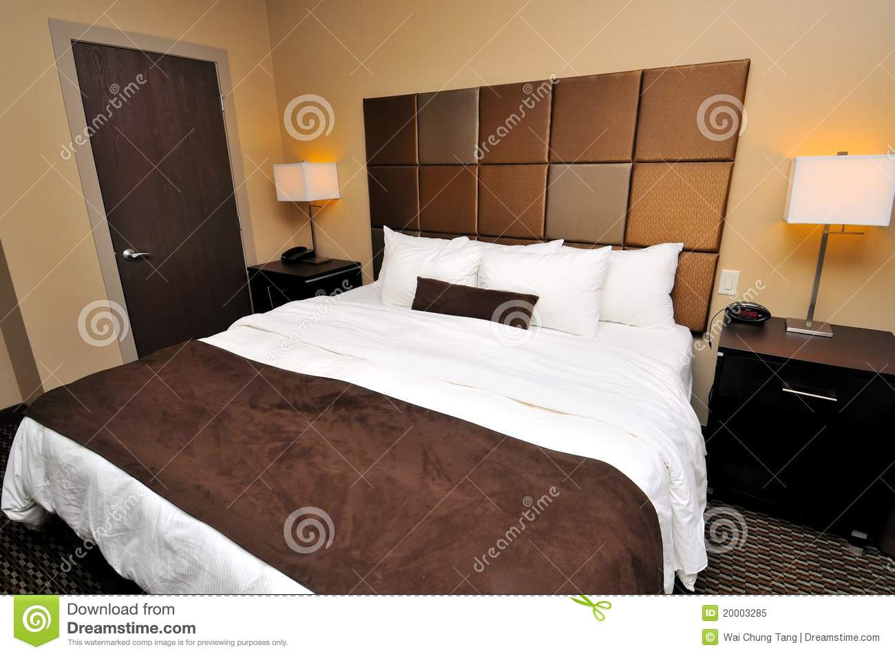 How Big Is A Queen Bed Large Queen Sized Bed Royalty Free Stock Photo Image