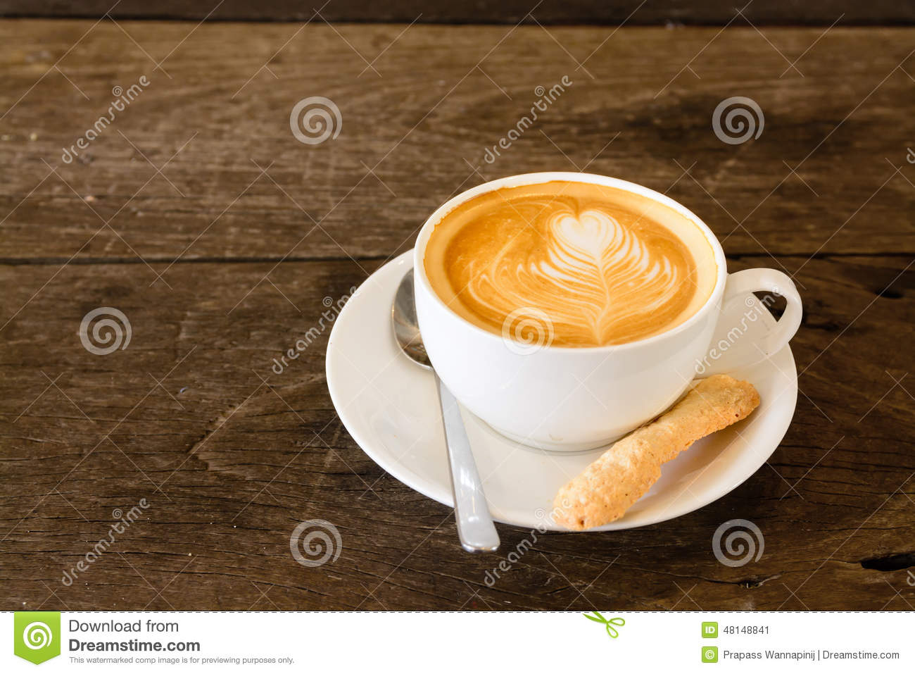 Coffee Latte Art Jogja Latte Art Coffee Stock Image Image Of Fresh Food