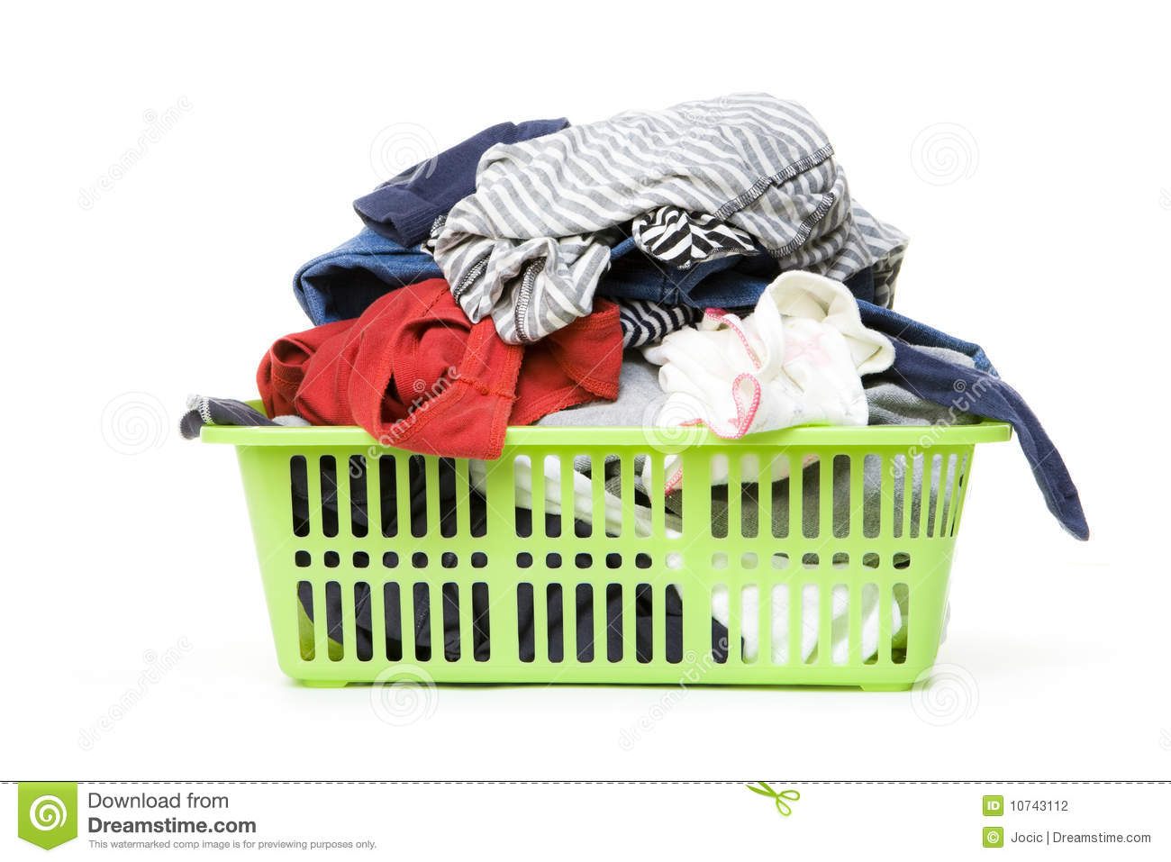 Dirty Laundry Baskets Laundry Basket And Dirty Clothing Stock Photography
