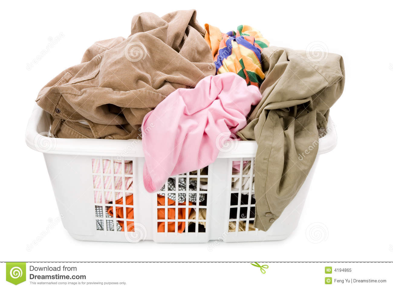 Dirty Laundry Baskets Laundry Basket And Dirty Clothing Royalty Free Stock Photo