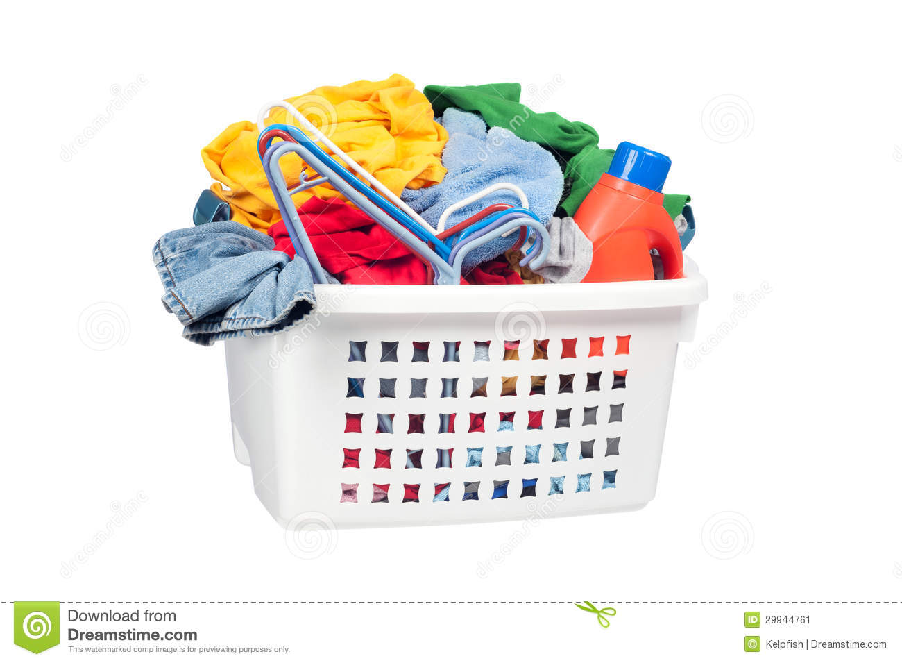 Designer Wäschekorb Laundry Basket Stock Image Image Of Shirts Cleaner 29944761