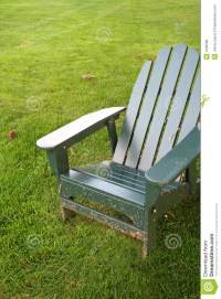 Lawn Chair on Grass stock image. Image of lawn, holiday ...