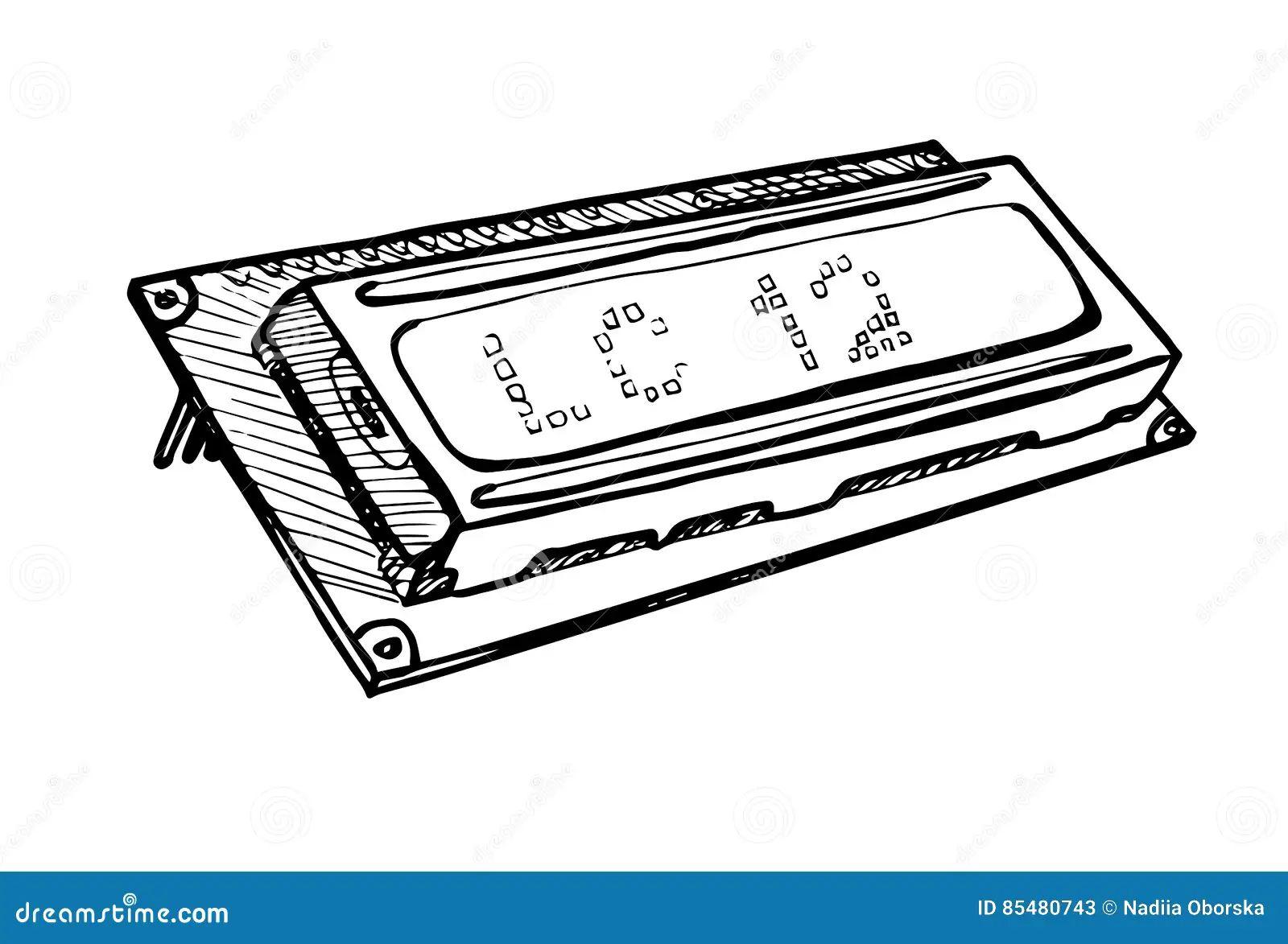 lcd display circuit board