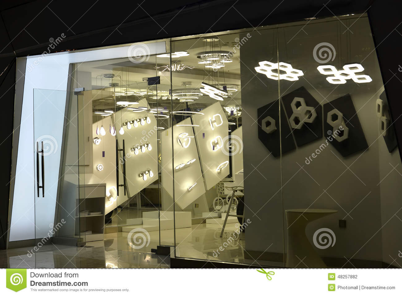 Led Wall China Led Lighting Shop Window Stock Photo Image Of Asia Display