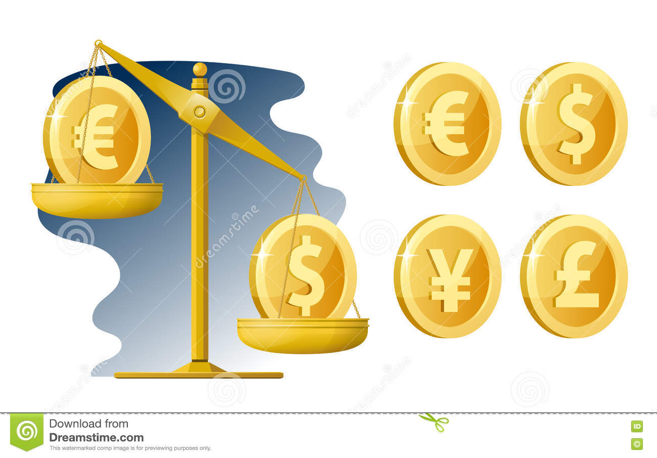 Libra A Euro Libra Currency Rate Dollar Euro Yen Pound Sterling Stock