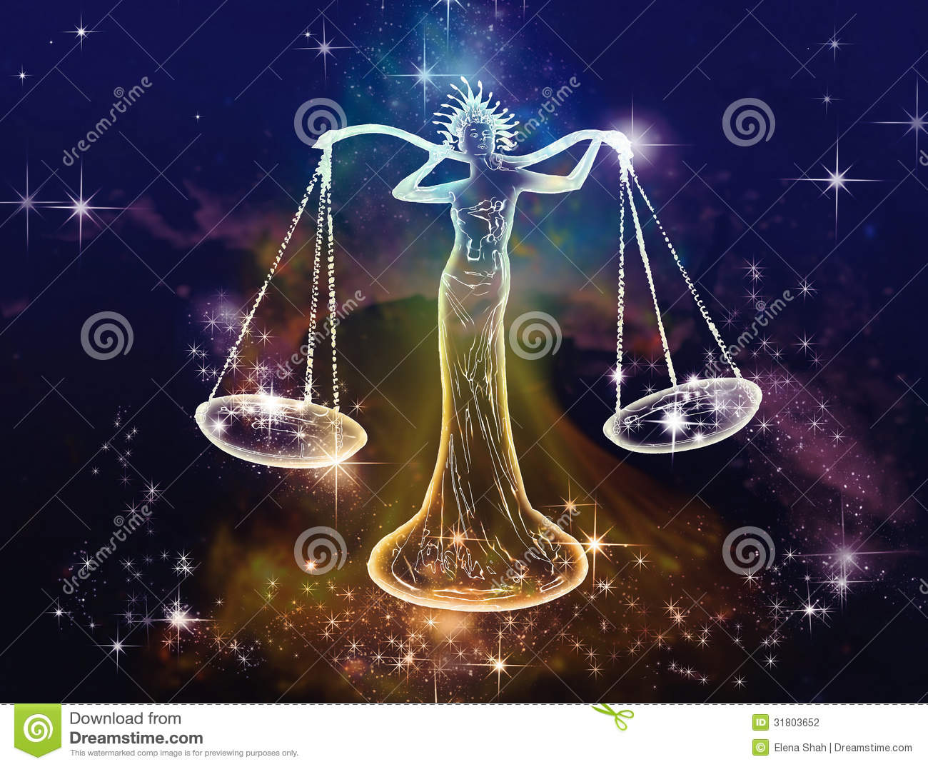 Libra Dinero Libra Scales Stock Illustration Illustration Of Quaint