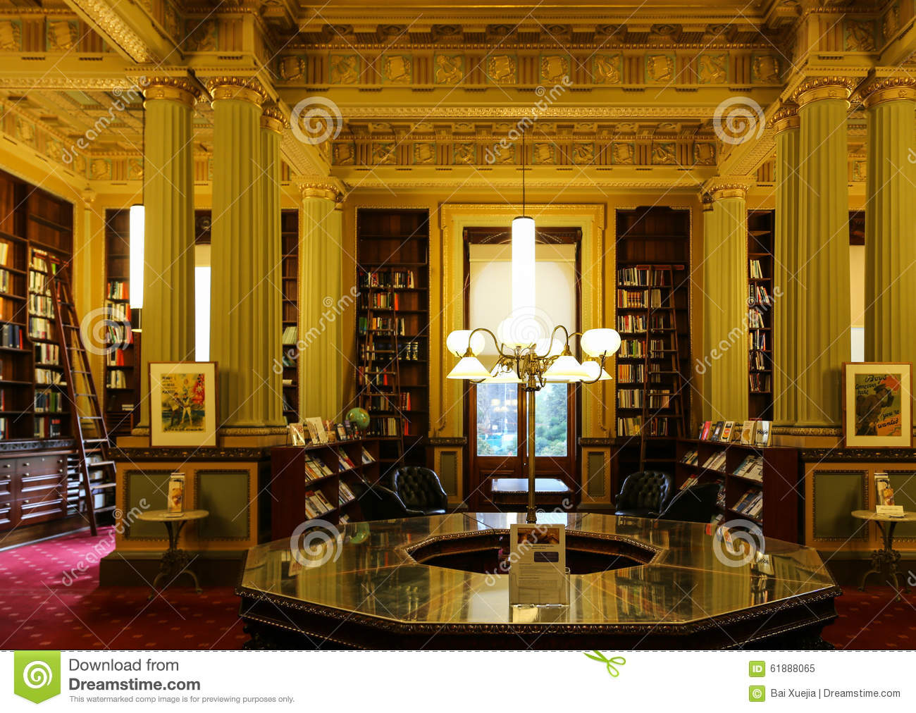 Library Furniture Australia The Library In Parliament House Melbourne Australia Editorial