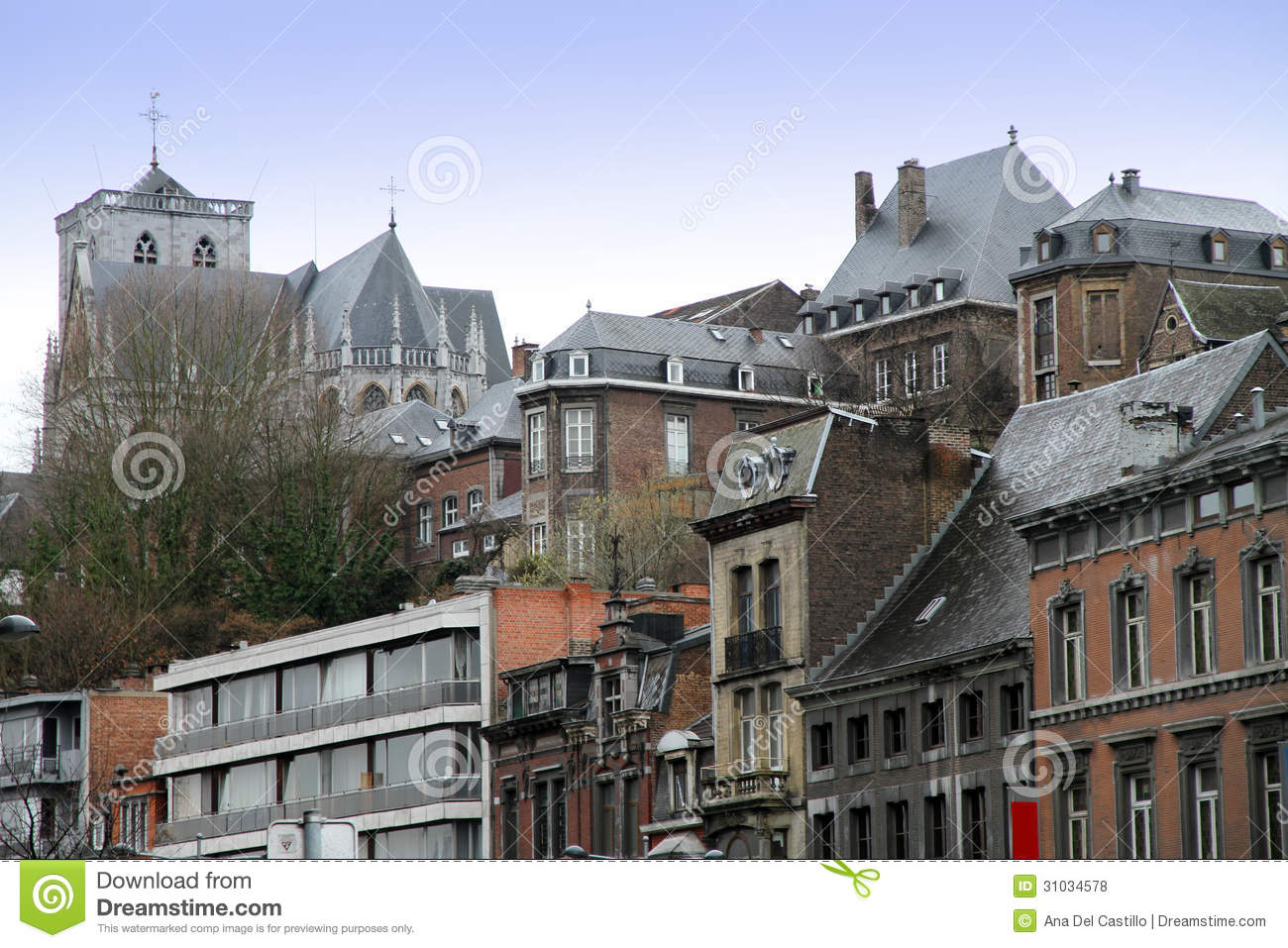 Liege Clipart Liege Wallonia Belgium Royalty Free Stock Photos Image