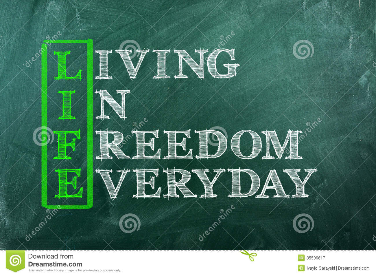 Freedom Picture Life Freedom Stock Image Image Of Motivation Sign Word