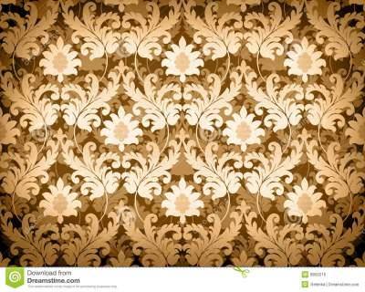 Light Gold Renaissance Background Stock Illustration - Illustration of repeating, seamless: 8850216