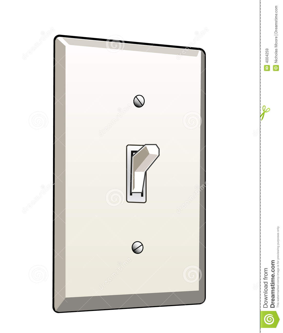 Switch Light Light Switch Stock Vector Illustration Of Sale Power 4004259