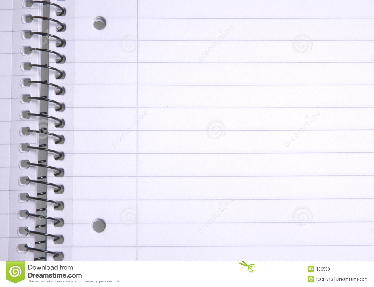 Notebook Paper Template Download – Notebook Paper Download