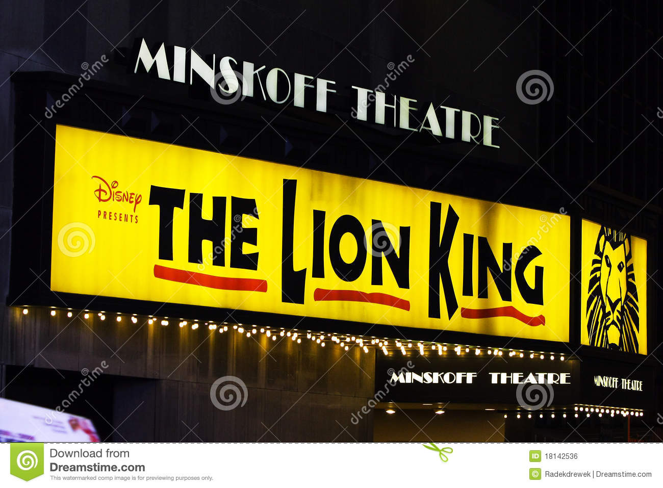 the lion king on broadway in nyc