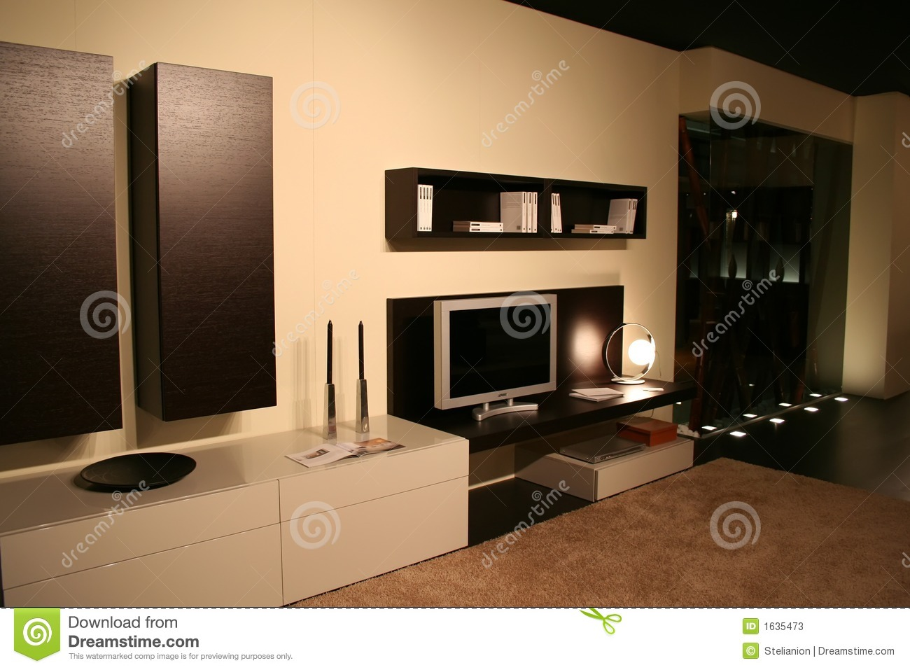 Slaapkamer Zandkleur Living Room Decorating Ideas Stock Photos Image 1635473