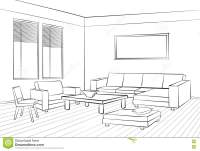 Living Room Design Room Interior Sketch Interior Furniture ...