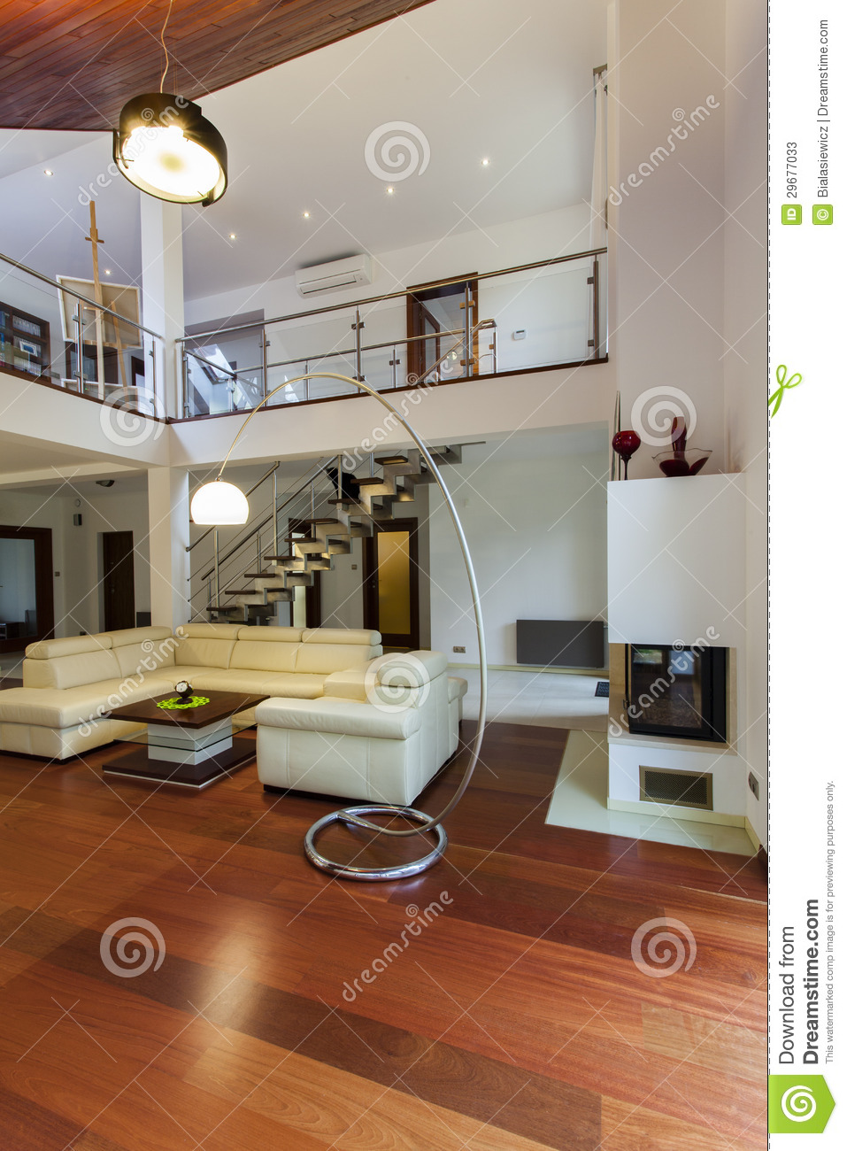Woonkamer 4 Bij 5 Living Room And Entresol Stock Photos - Image: 29677033