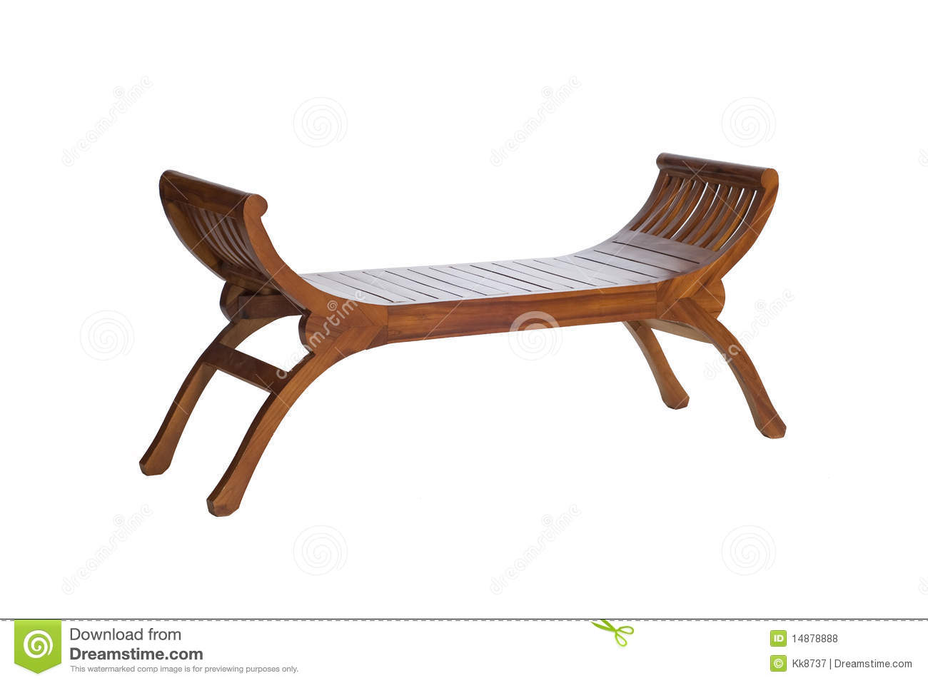 Long Wooden Chair Stock Photo Image Of Chinese Chair 14878888