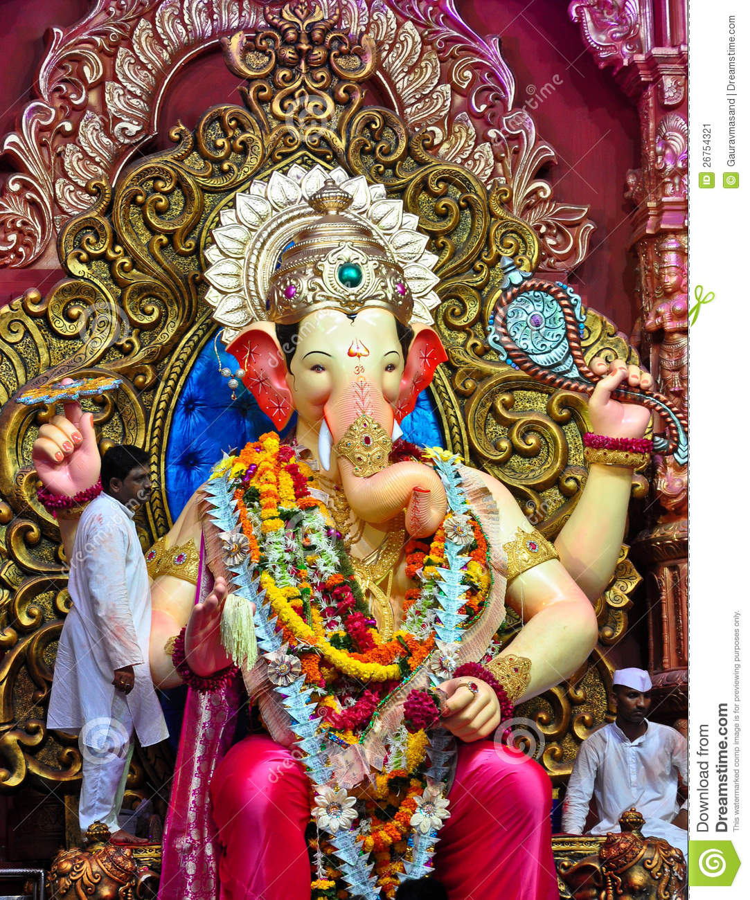 3d Ganesh Wallpapers Free Download For Pc Lord Ganesha At Lalbaug Editorial Photo Image Of Lord