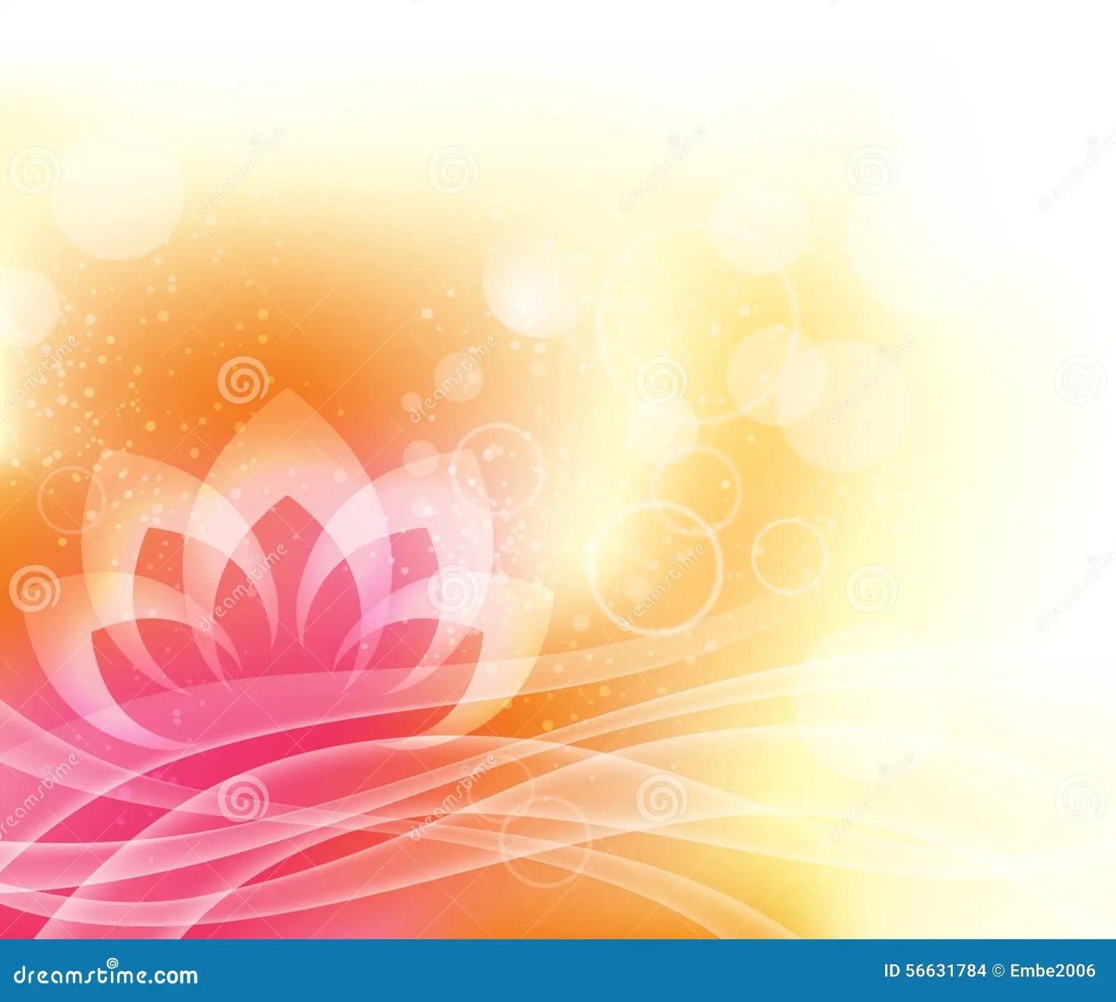 3d Design Flower Wallpaper Lotus Yoga Background Stock Photo Image 56631784