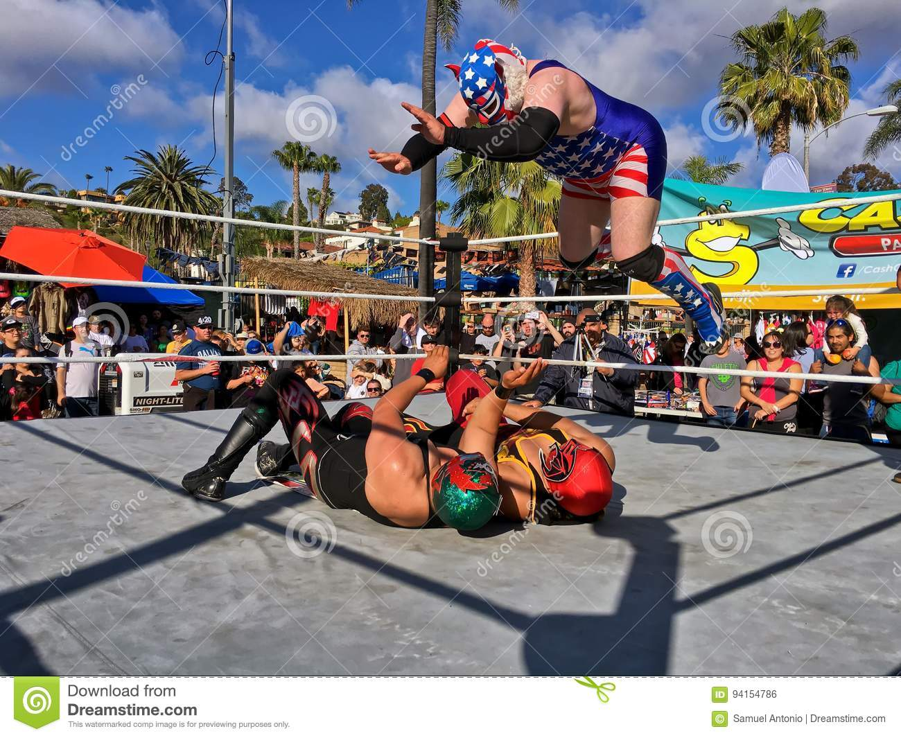 Lucha Libre Mexico Lucha Libre Mexican Wrestling Editorial Photo Image Of