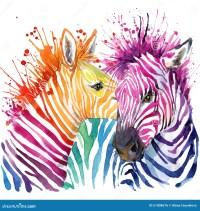 Lustige Zebra T-Shirt Grafiken ...