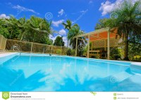 Luxury Backyard Swimming Pool Royalty Free Stock Photo ...