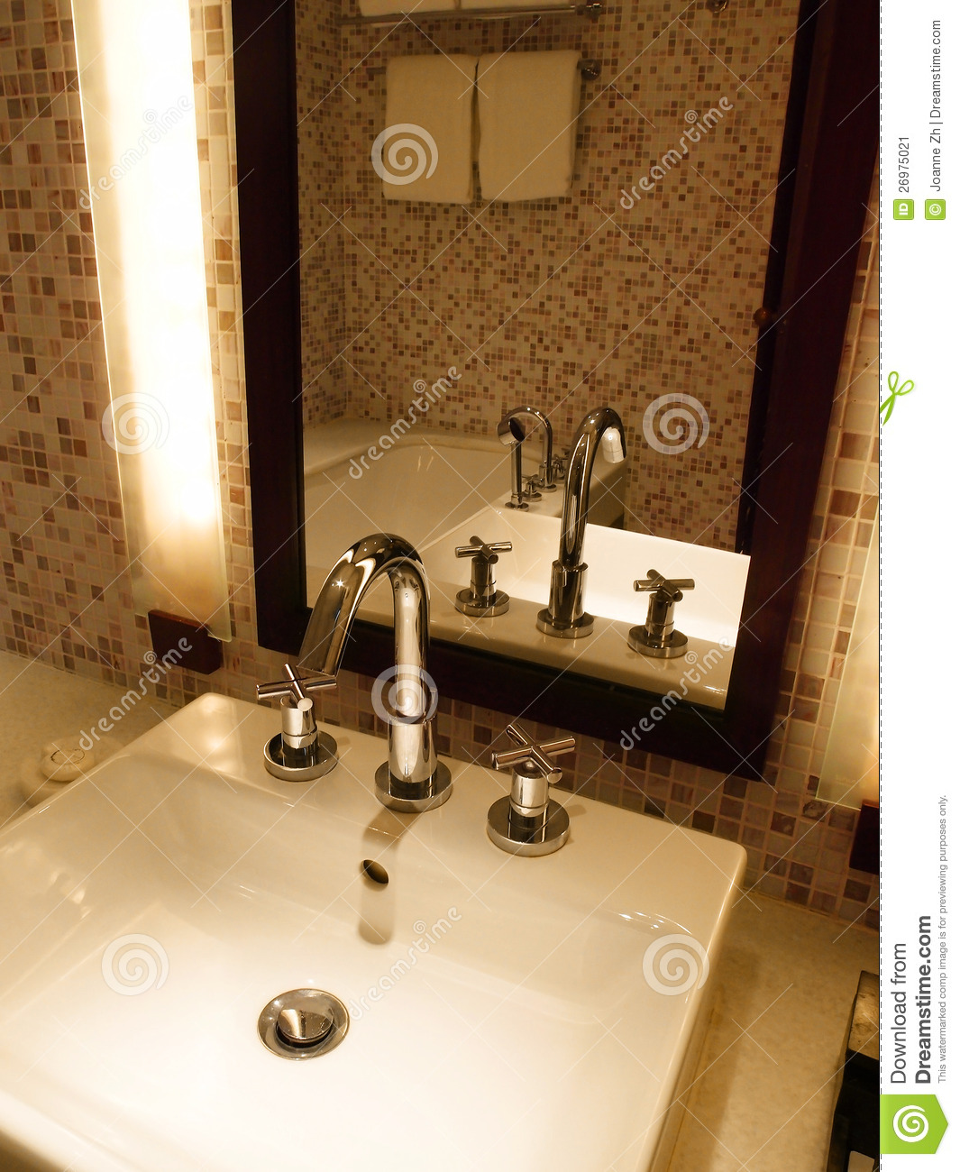 Luxury Bathroom Sink And Tap Stock Image Image 26975021