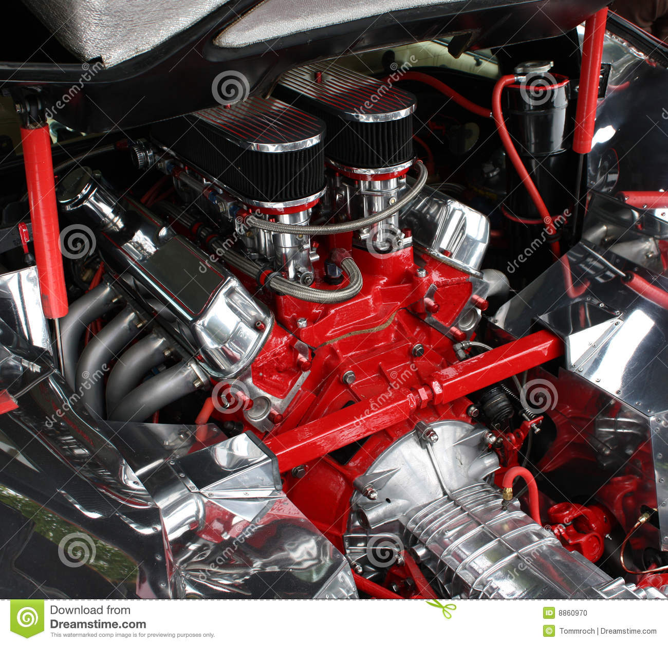 Old Car Wallpaper Download Luxury Car Engine Detail Stock Photo Image 8860970