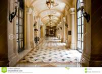 Luxury Classic Colonnade Corridor Stock Photography ...