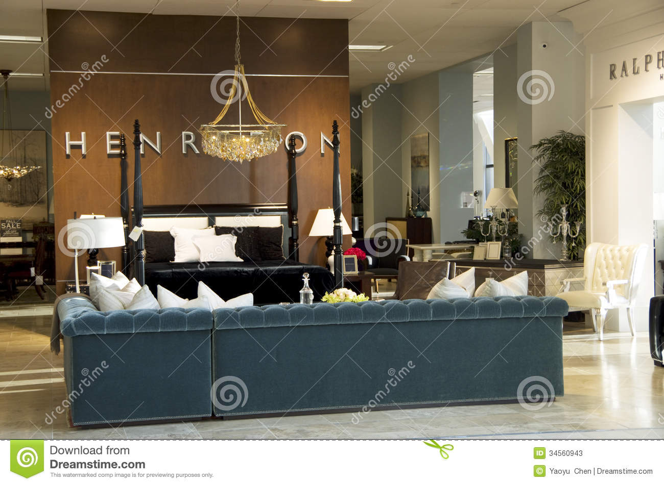 Luxury Furniture Stores Luxury Furniture Store Editorial Stock Photo Image 34560943